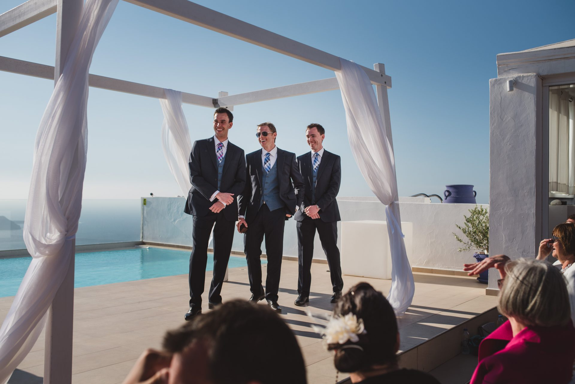 Santorini Wedding Photographs - Stewart Girvan Photography