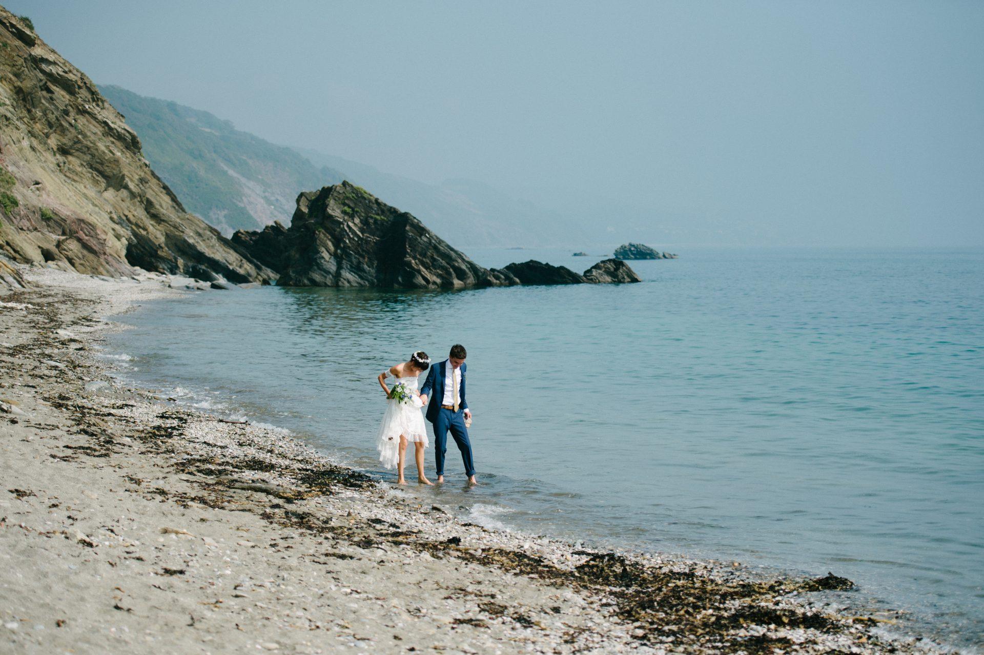 Kilminorth Cottages Wedding, Looe, Cornwall