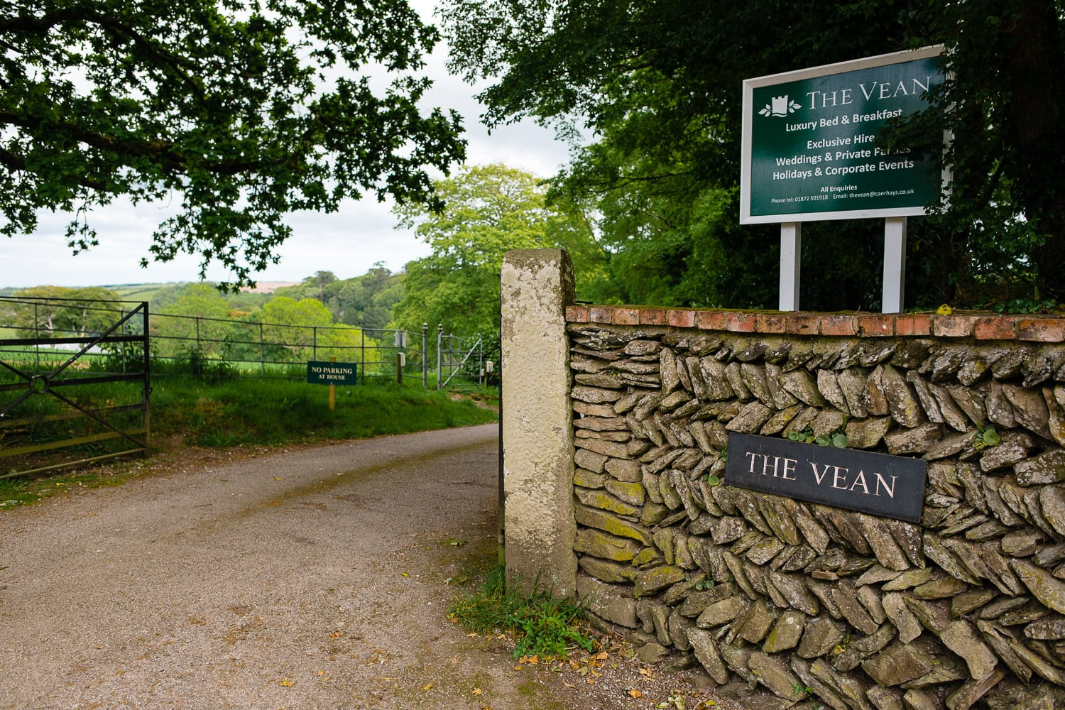The Vean, Caerhays