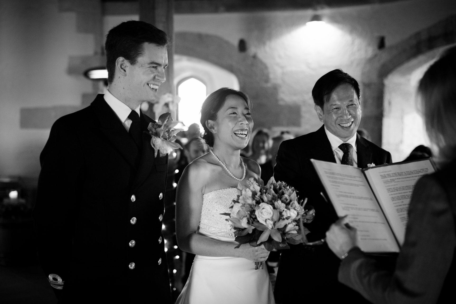 St Mawes Castle Wedding
