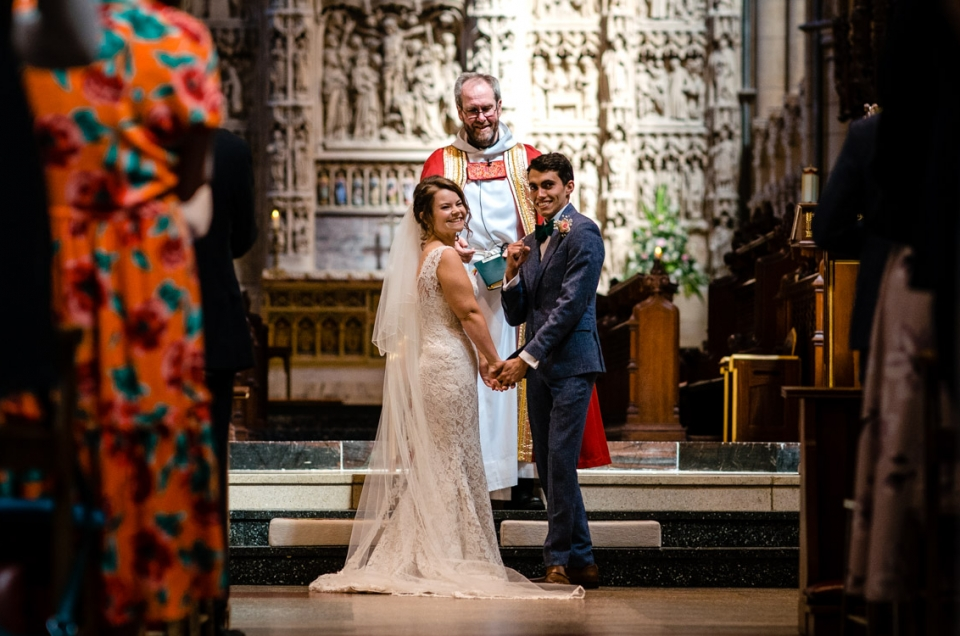 Truro Cathedral Wedding Photo