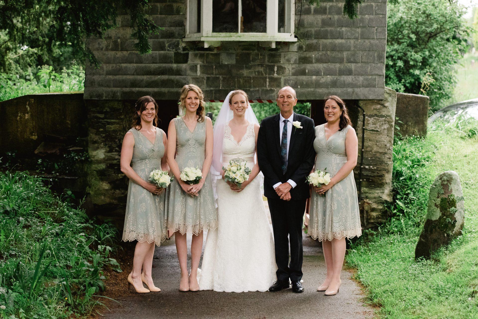 Feock Church Wedding, Cornwall