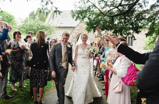 Feock Church Wedding, Cornwall