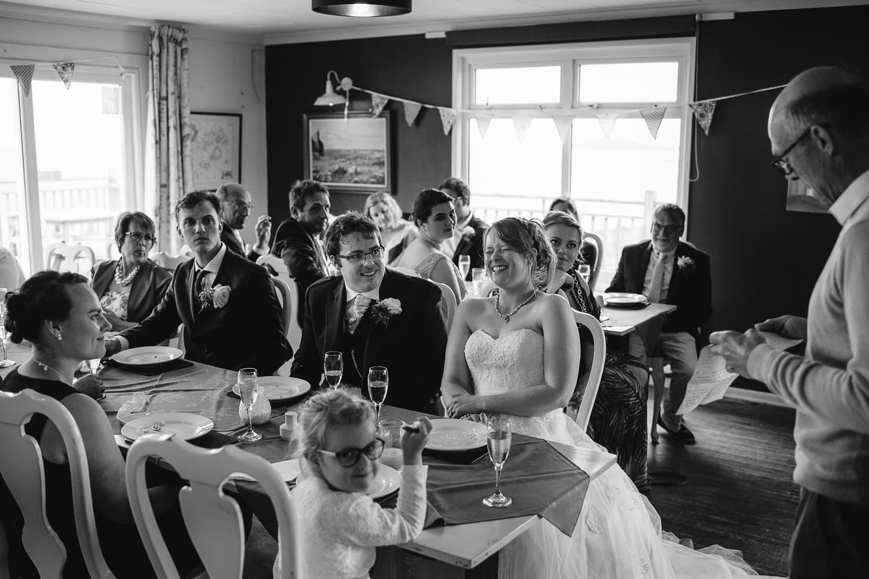 Isles of Scilly Golf Club wedding