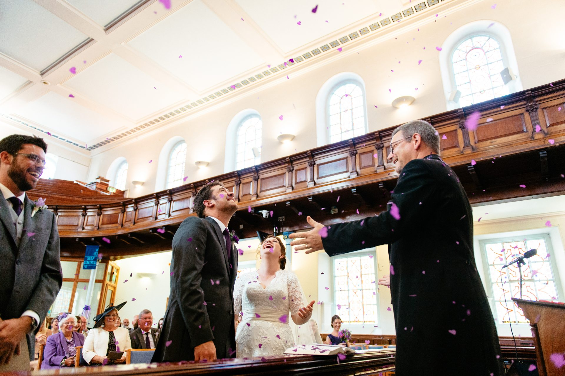Truro Methodist Church wedding