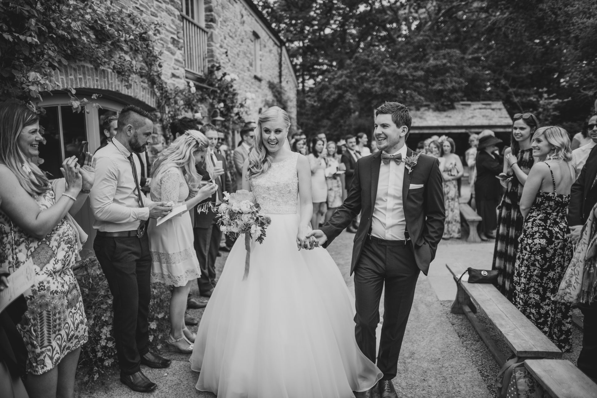 Wedding at Nancarrow Farm - Stewart Girvan Photography