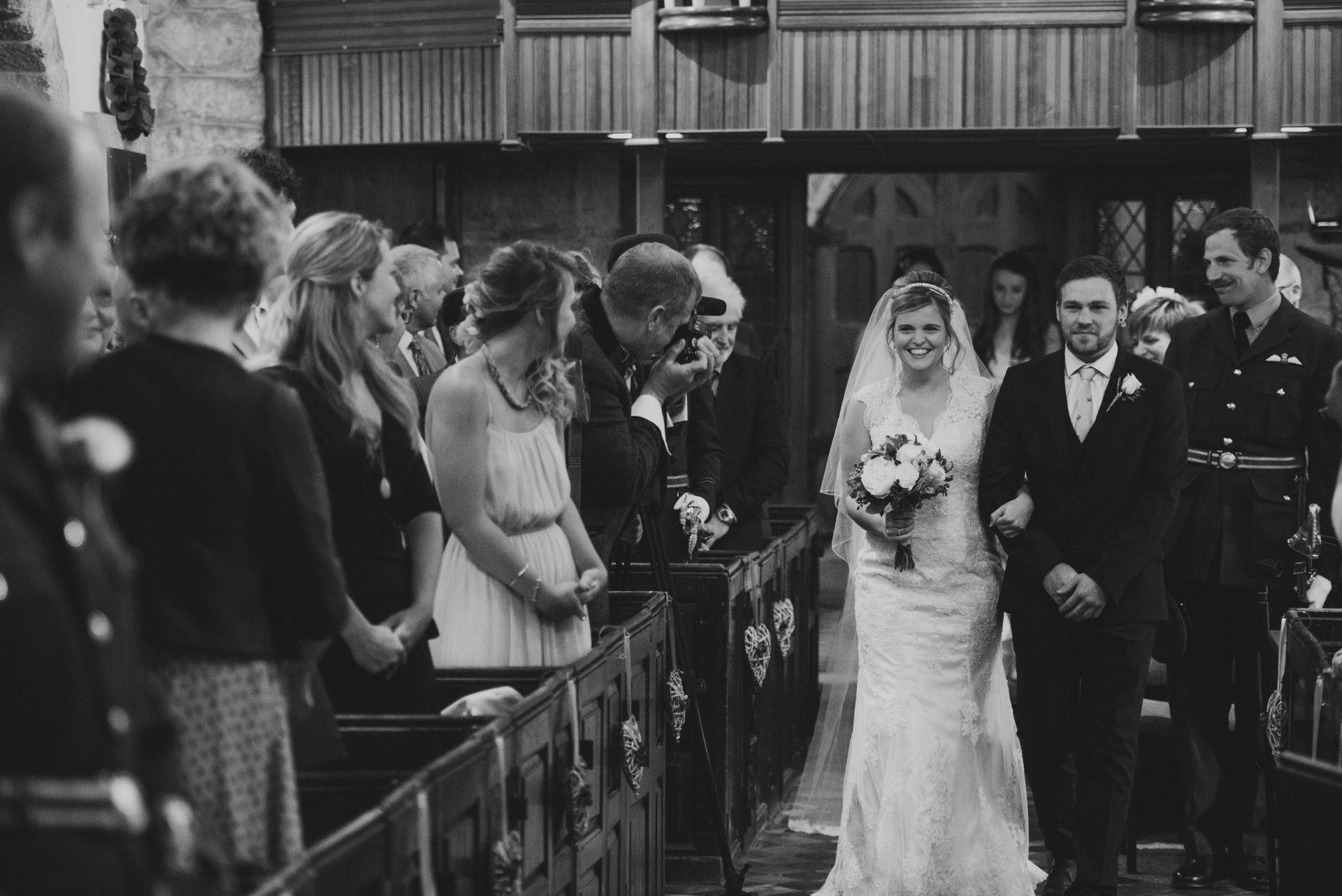 St Budock Church Falmouth Wedding