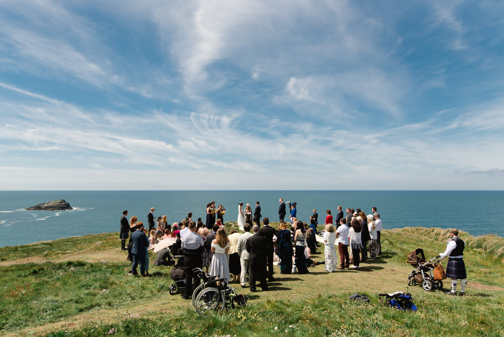 West Pentire Cornwall Wedding - Stewart Girvan Photography