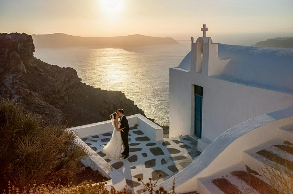 Alex & Jaclyn's Wedding - Greek Island of Santorini