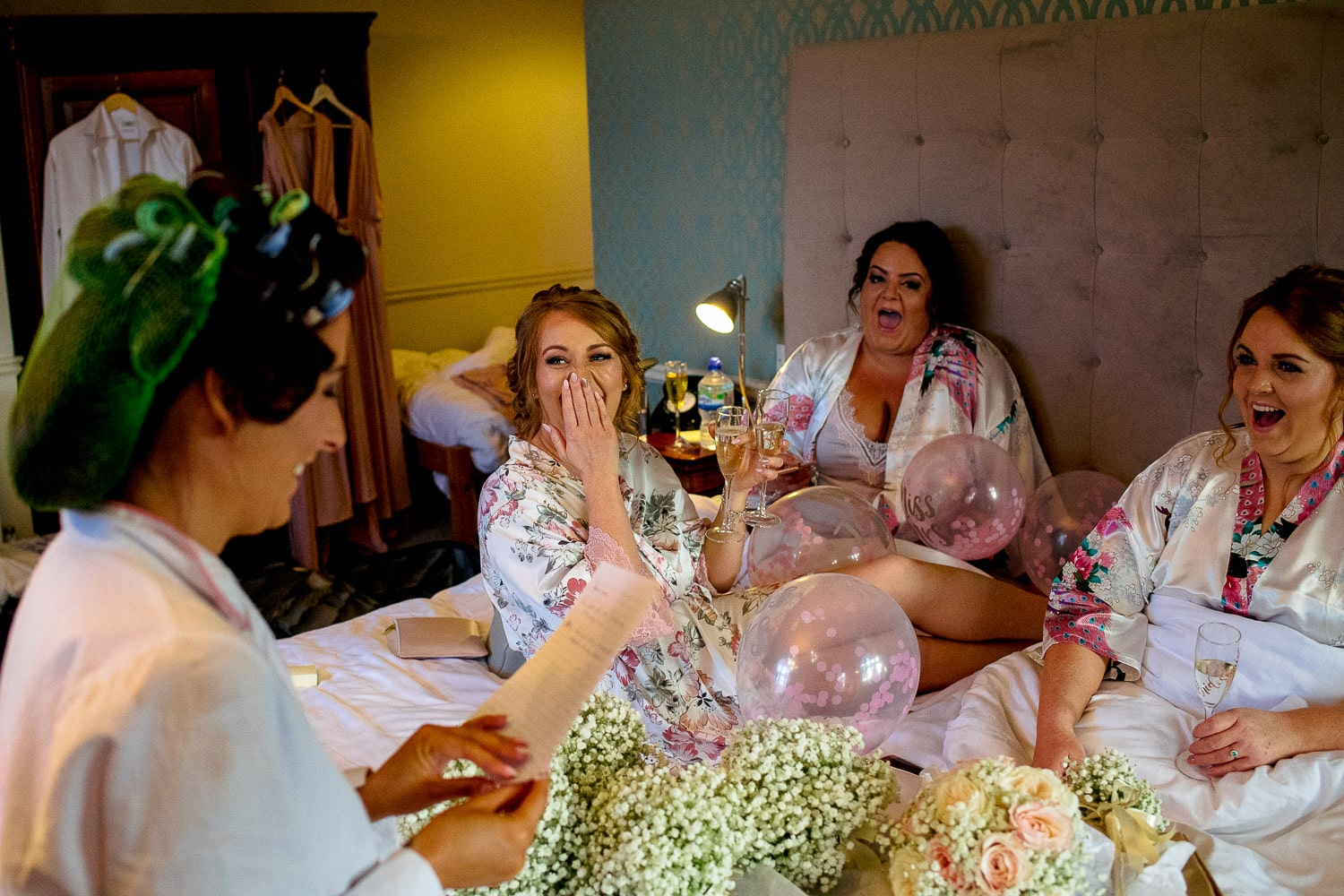Bridesmaids at the Alverton Hotel