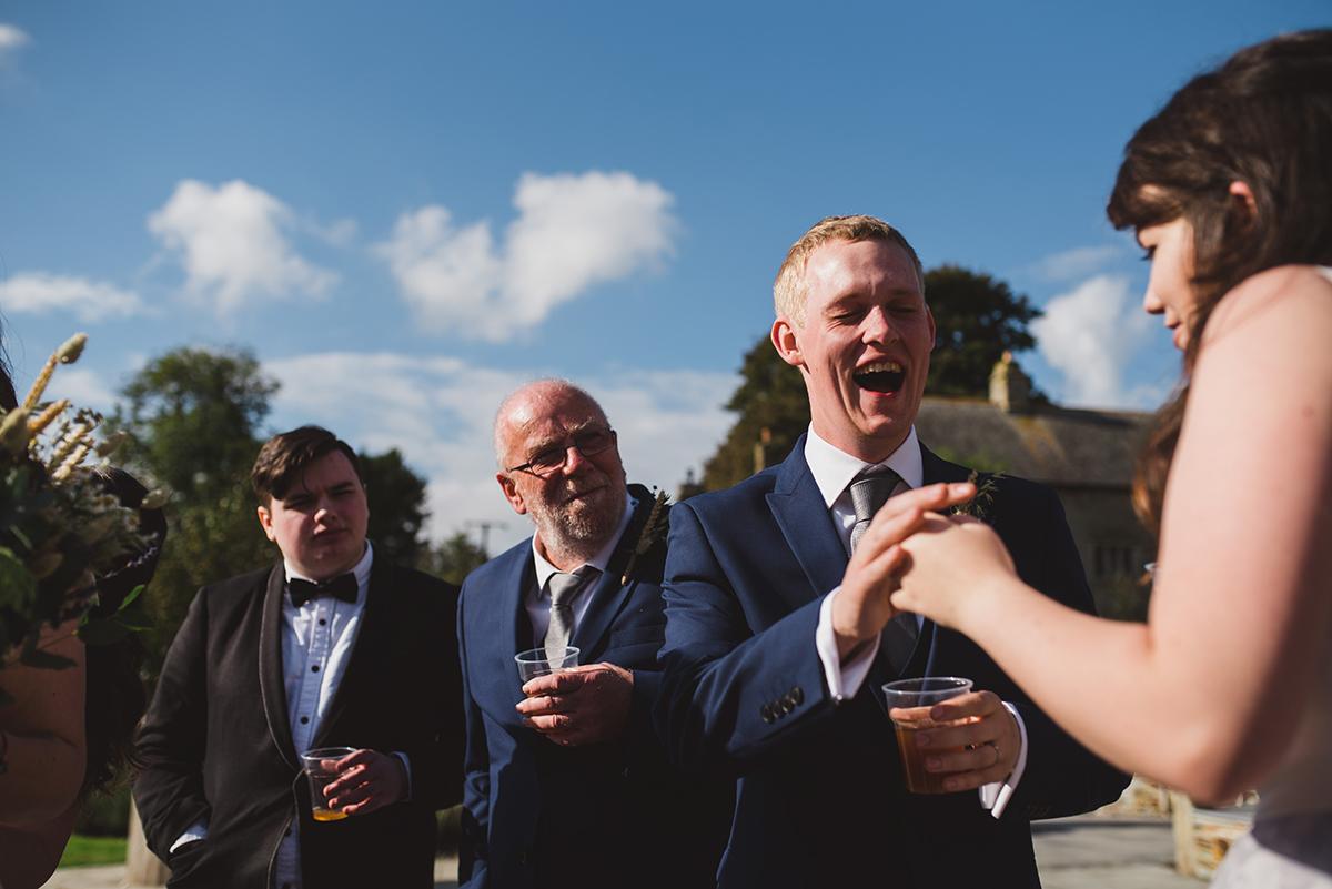 Bryony & Tom\'s Wedding Day   Pengenna Manor Wadebridge Cornwall