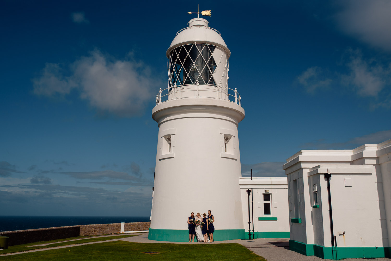 Wedding Pendeen Lighthouse