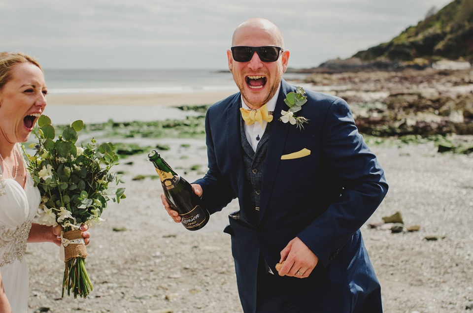 Emma & Lee Cornwall Wedding