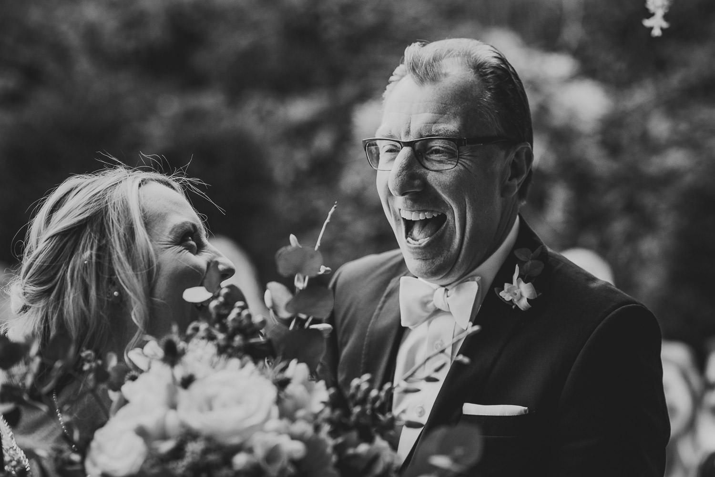outdoor wedding in Cornwall