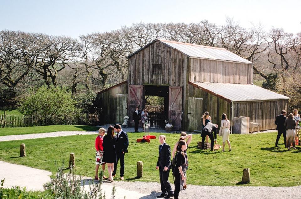 Wedding photography at Nancarrow Farm