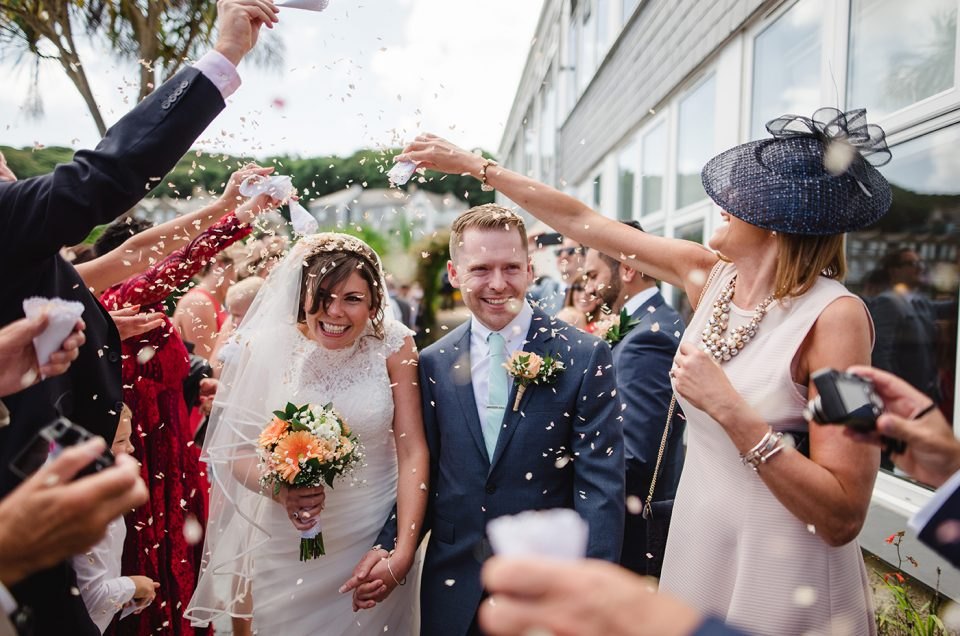 Nicky & Gary's Wedding - St Ives Harbour Hotel