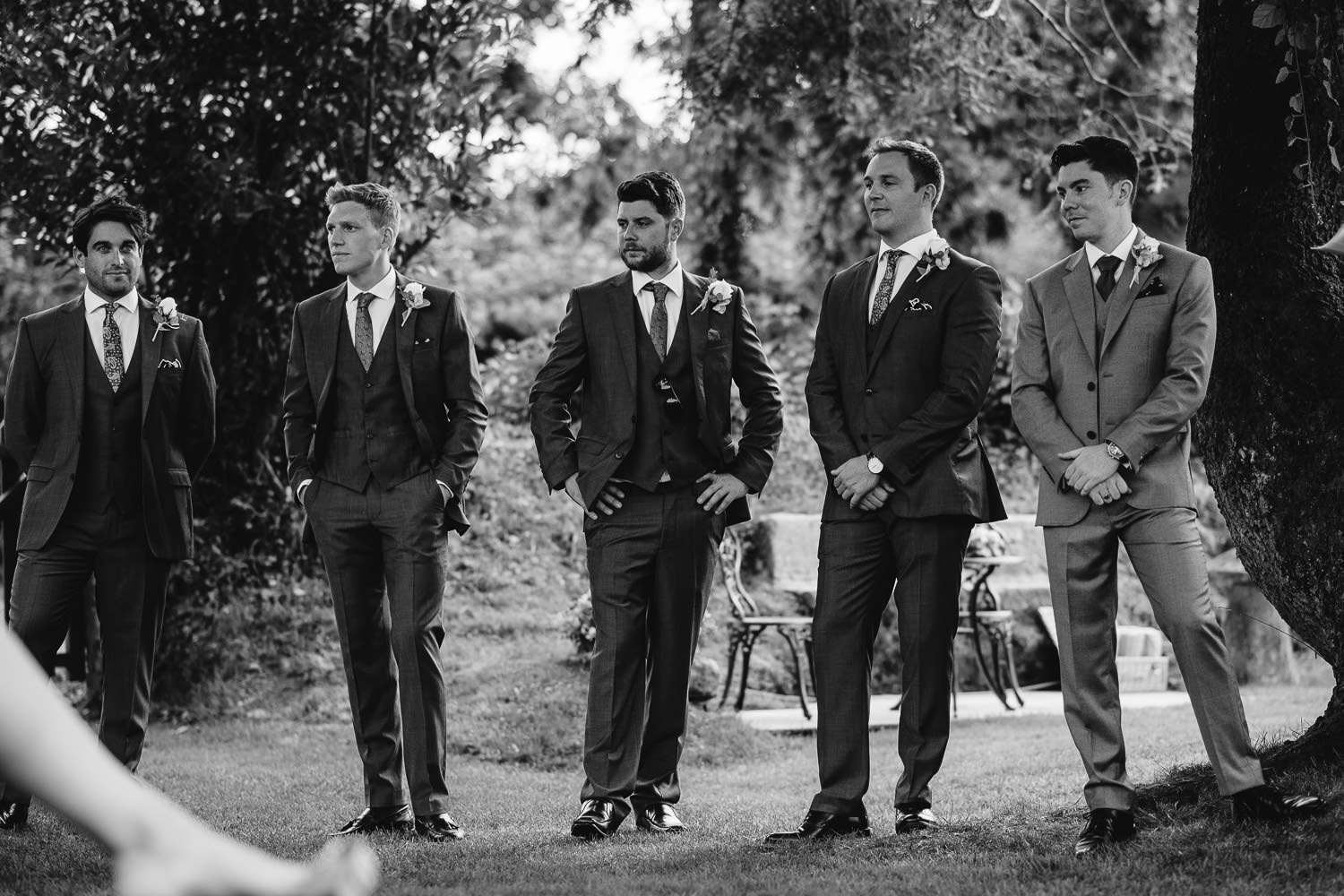 Groomsmen in cornwall