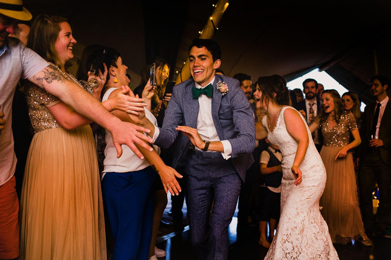 wedding reception in cornwall